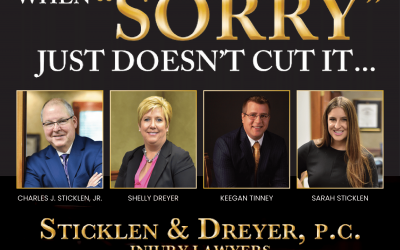Sticklen and Dreyer Law Firm| Top 5 | 21st Annual Readers' Choice Favorites of the Four States