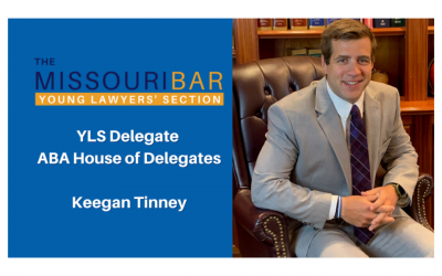 Keegan Tinney Selected As YLS Representative To ABA House Of Delegates